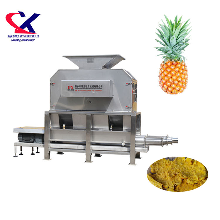 Automatic Pineapple Peeler, Pineapple Peeling Machine and fruit juice processing machine