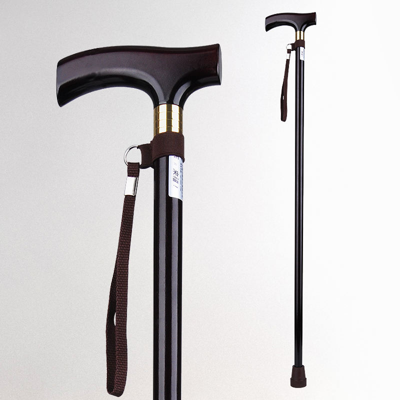 outdoor products wood handle walking cane furniture crutches old man elderly wooden walking stick
