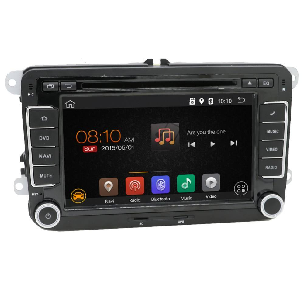 2 din android 6.0 7 zoll touch screen gps BT USB wifi 3g auto radio für VW