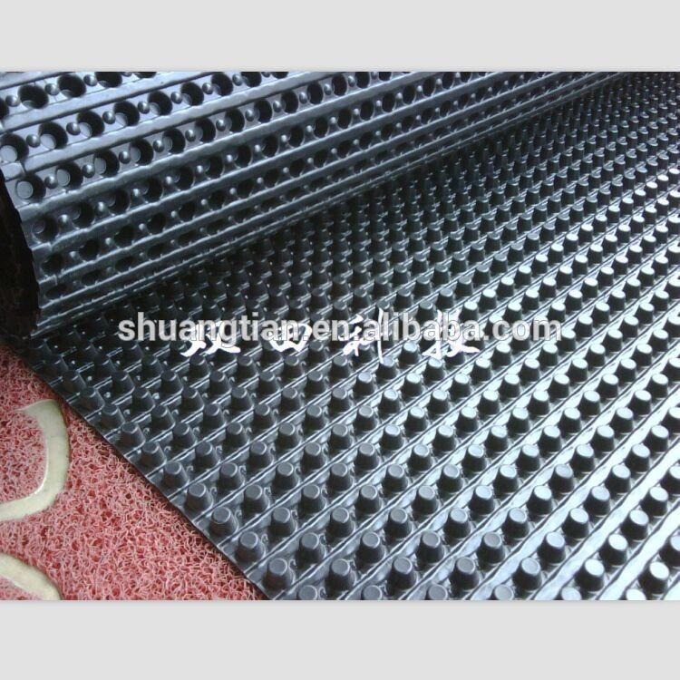 Plastic drainage sheet HIPS water storage-drainage Sheet plastic drain board H10 H12 H18 H25 H32 H40 and custom size