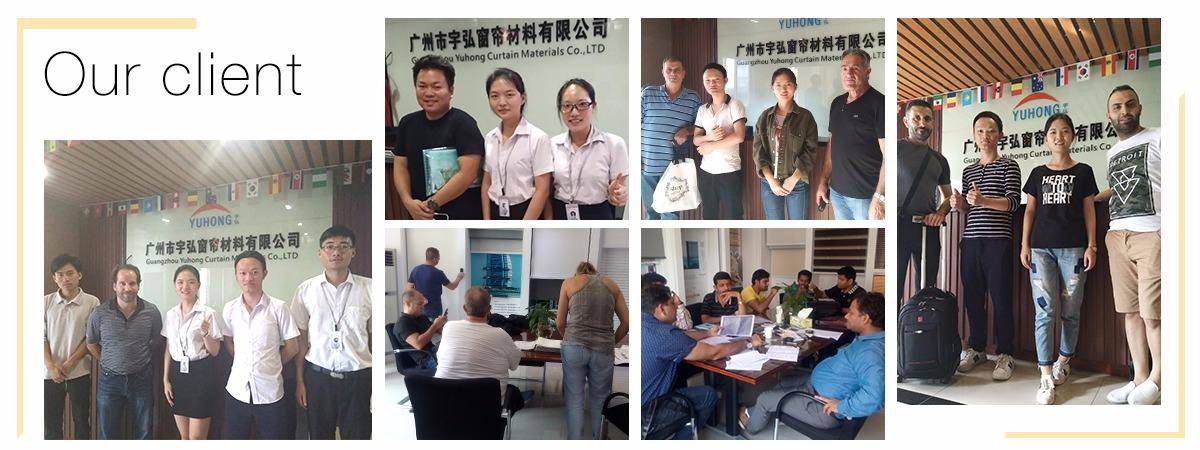 Guangzhou Yuhong Curtain Materials Co Ltd Roller Blinds