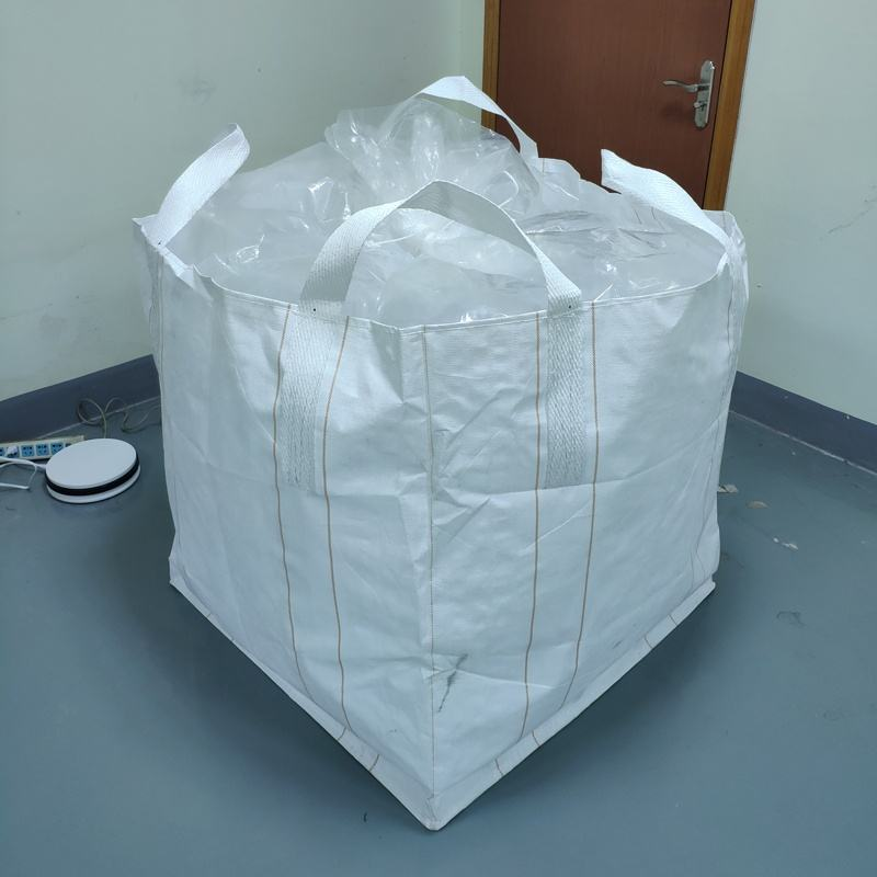 Pe liner 500kg 1000kg agriculture 1 cubic meter Polypropylene Big bag for pet flakes