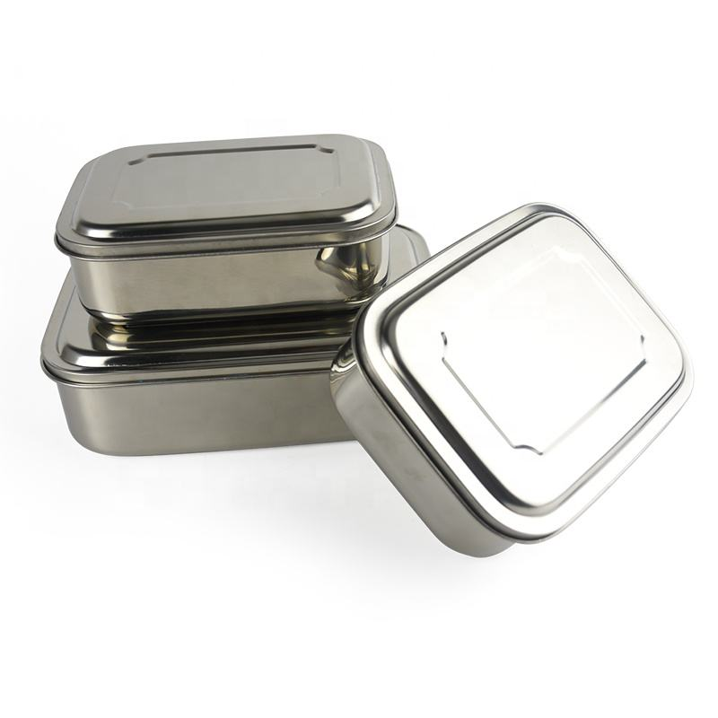 Roestvrij Staal voedsel opslag Food grade Container bento lunch Box