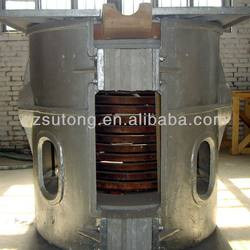 1.5 tons Iron Cast Melting Furnace for Industry Factory
