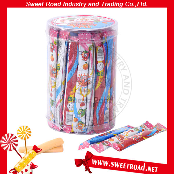 Fruit Sour Milk Chewing Sweet Candy