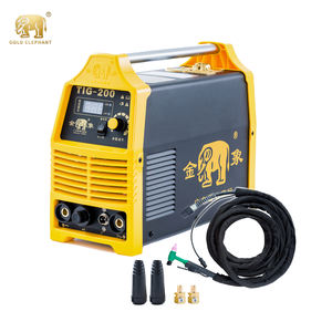 GOLDEN ELEPHANT TIG-200 IGBT DC Inverter single phase high frequency portable argon gas WS/ZX7 stainless steel welding equipment