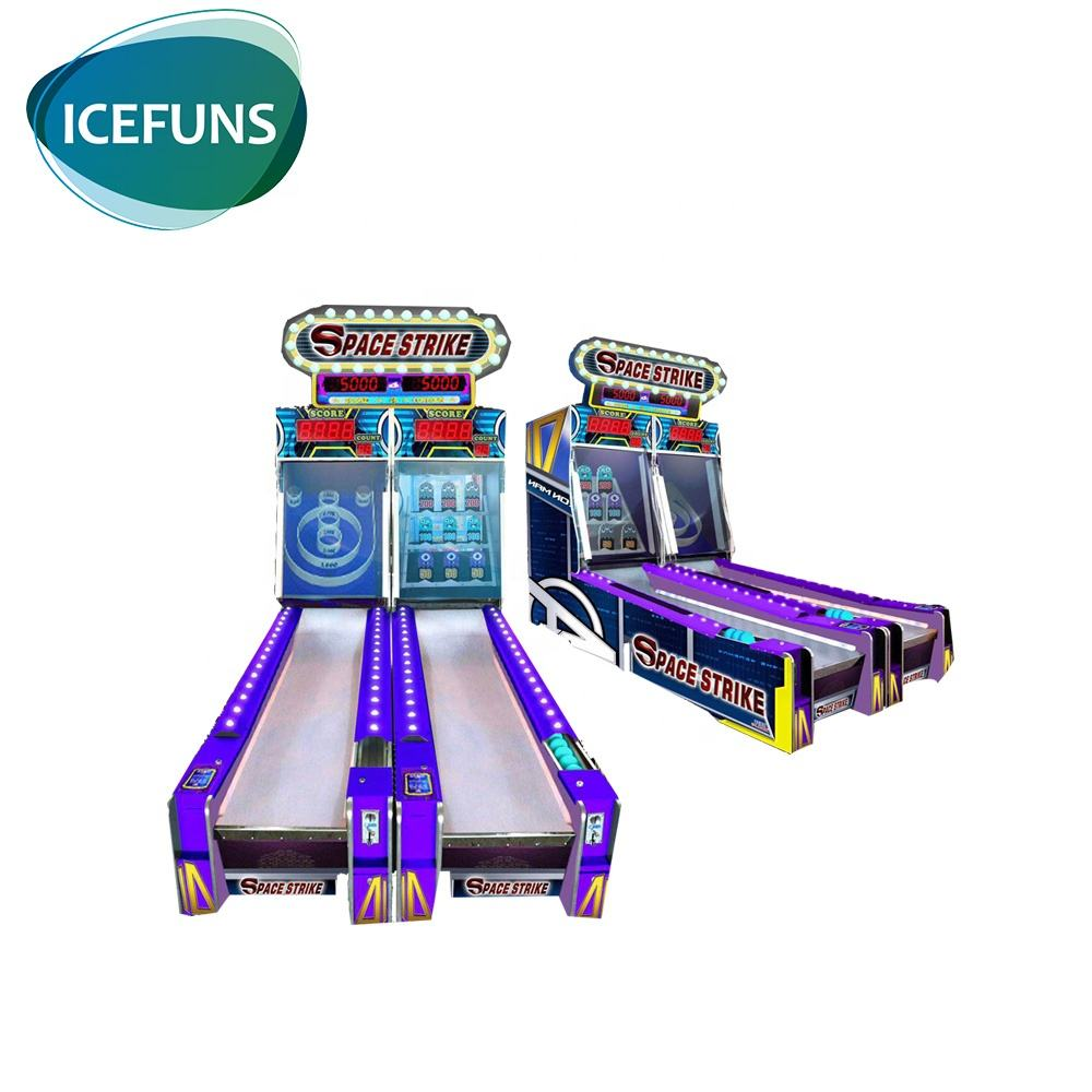indoor mini ticket redemption games arcade bowling simulator game machine for kids center