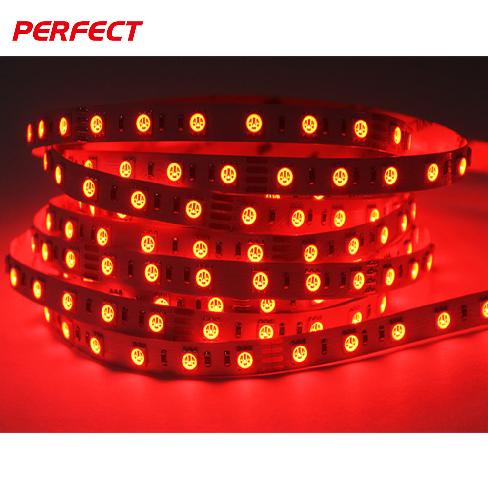 free sample 5050 rgb dc12/24v red led light strip ce rohs ul approved