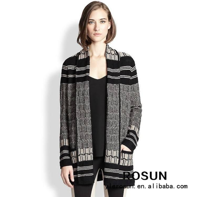 pullover marken fabrik großhandelspreis strickjacke jacquard peru pullover