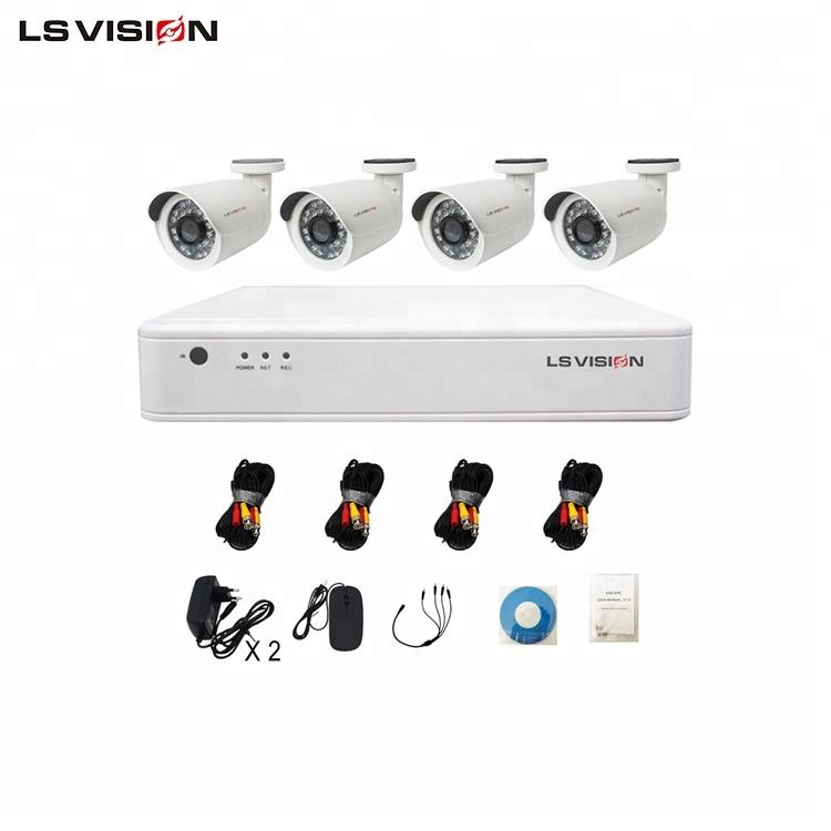 LS VISION 1080 p nvr 독립형 CCTV 2mp 4ch AHD Camera DVR Kit 대 한 홈 보안 녹화 System