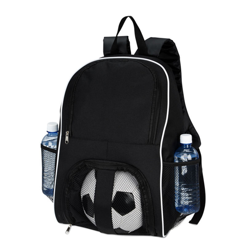 Cheap New Stylish Logo Custom School Sport Equipment Bag Volleyball Basketball Football Soccer Backpack With Ball Compartment
