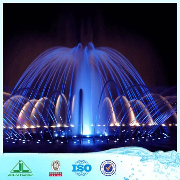 Large Water Fountain Design With Underwater LED Lights For Fountains