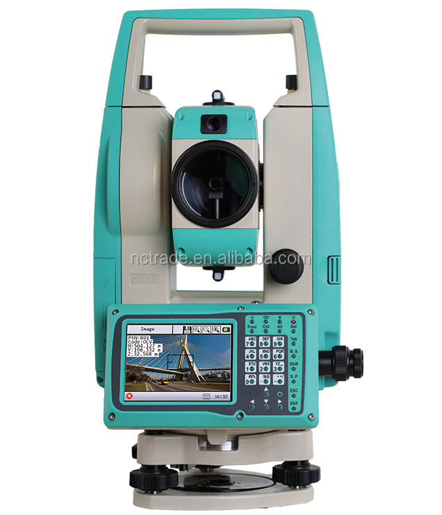 Land survey instrument RIS Ruide total station with laser and optical plummet