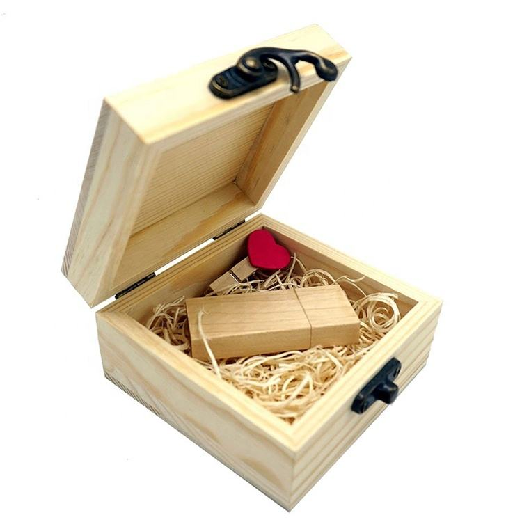 Gift Wooden Box Souvenir Handmade Elegant Luxury Small Black Custom Wooden Gift Box With Metal Lock