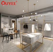 China Modern Garment Furniture Store Display Racks Clothing Shop Interior Design for Clothing Store