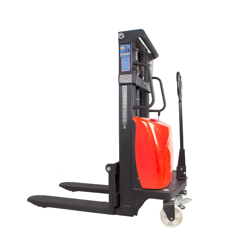Semi Electric Pallet Stacker Pallet Stacker Mini Forklift
