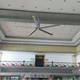Super HVLS 24FT silent 5 and 8 Magnalium blade ceiling fan china heat recovery ventilators