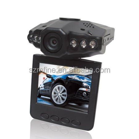 2.5 inch manual car cam hd car dvr with 6 ir led vehicle car camera dvr video recorder