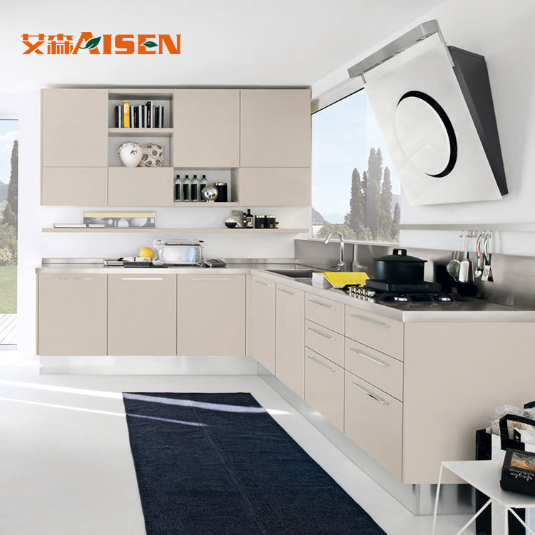 Pictures Kitchen Design Marble Top Modern kitchen cabinet With European Style