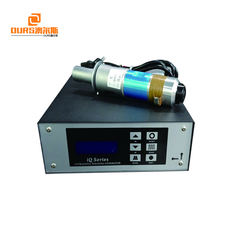 2000W/20KHz ultrasonic welding generator with welding transducer for welding plastic machine