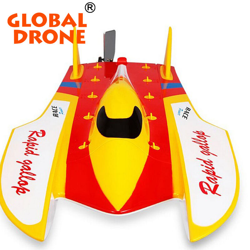 Grand bateau radio commandé jouet pour les enfants WLtoys courses de bateau rc haute vitesse WL913 bateau brushless