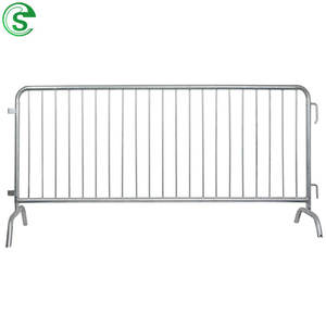 Crowd control barriers fence / bike rack barricade / temp fencing