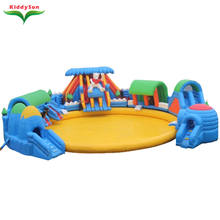 Summer hot sale inflatable water toys inflatable water park for aquatic park