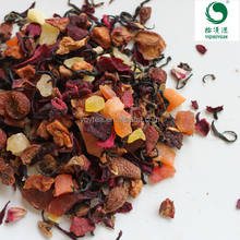 fruits blending, apple hibiscus fruit infusion , fruit tea