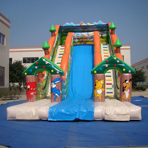 Giant colorful children's toys inflatable slide for outdoor activities /big event /sports /game