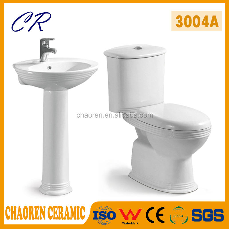 African Twyford Toilet girl go to toilet bowl Africa washroom sanitary ware ceramic WC export bathroom toilet