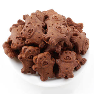 Healthy Baby Food Chocolate Flavor Animal Biscuit Cracker