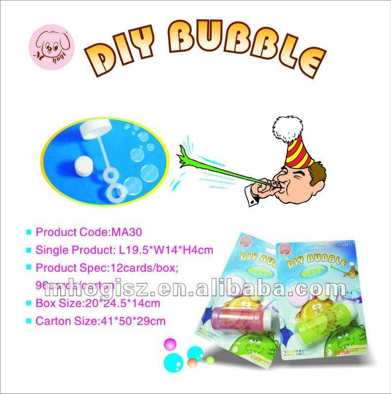 Diy bubble toy