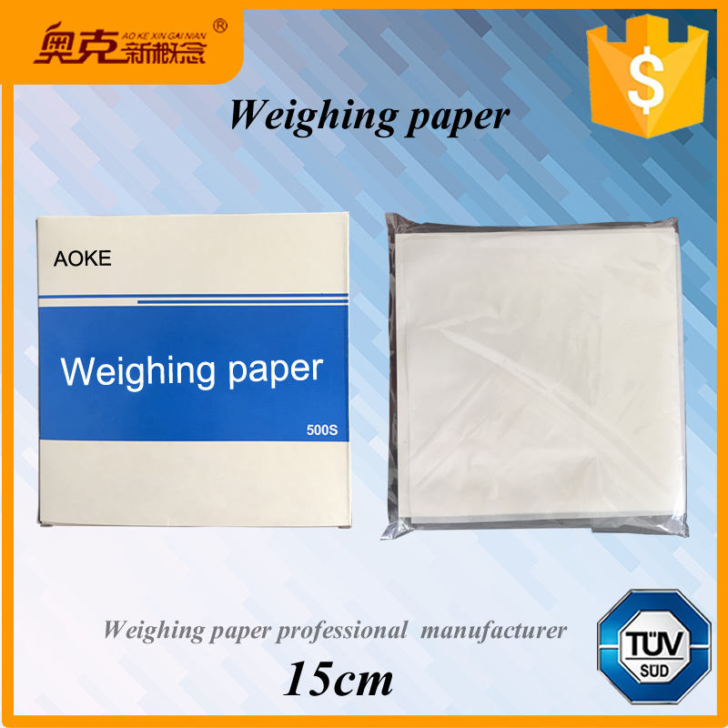 Weighing Paper Sheet High Gloss Scale Weigh Paper Non-Absorbing 60mm*60mm
