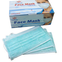Custom cotton Disposable Earloop Surgical Face Mask For Hospital