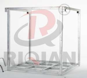 RIQIAN storage rack hot-dip galvanized high stacking and multi-layer storage rack