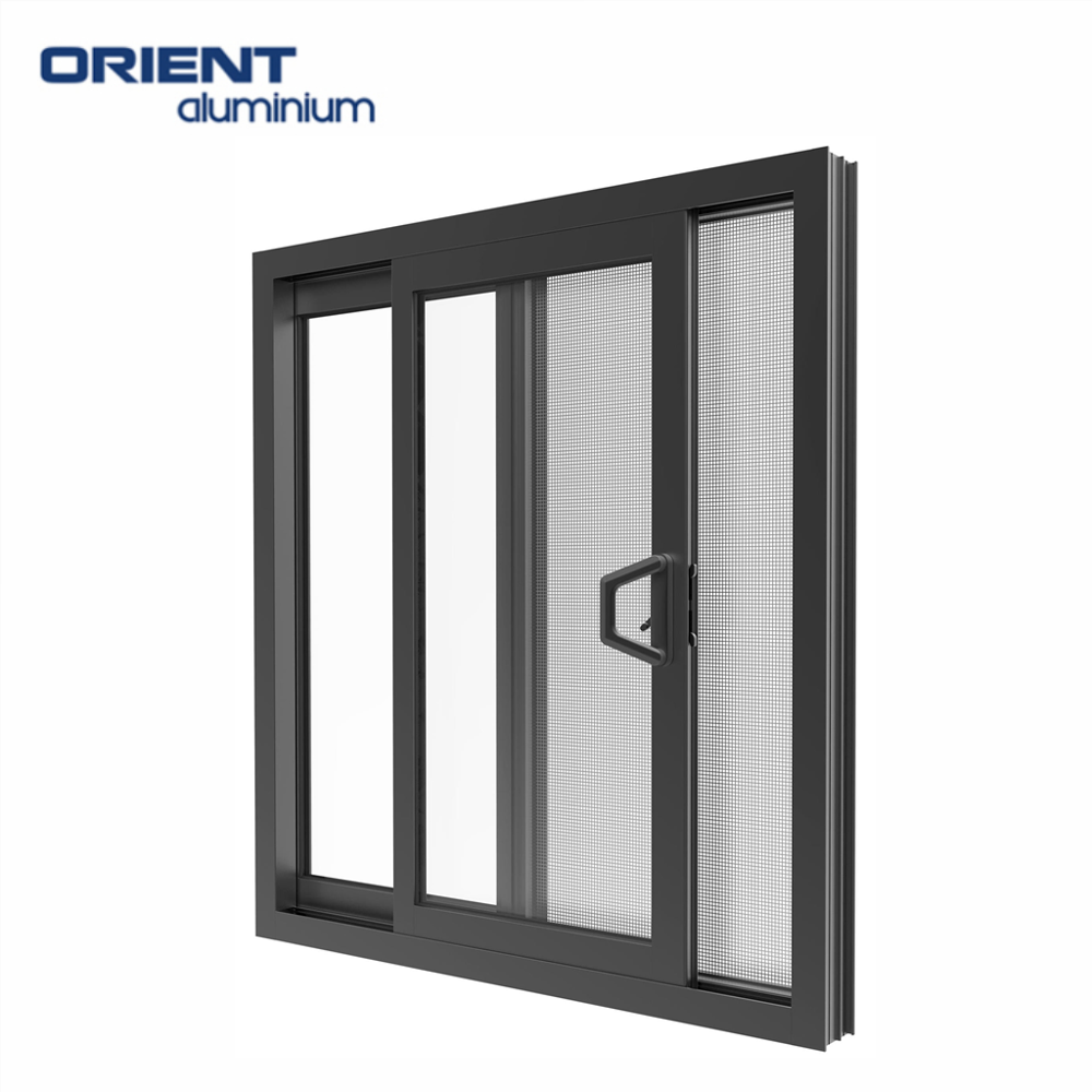 High quality sliding aluminium orient windows
