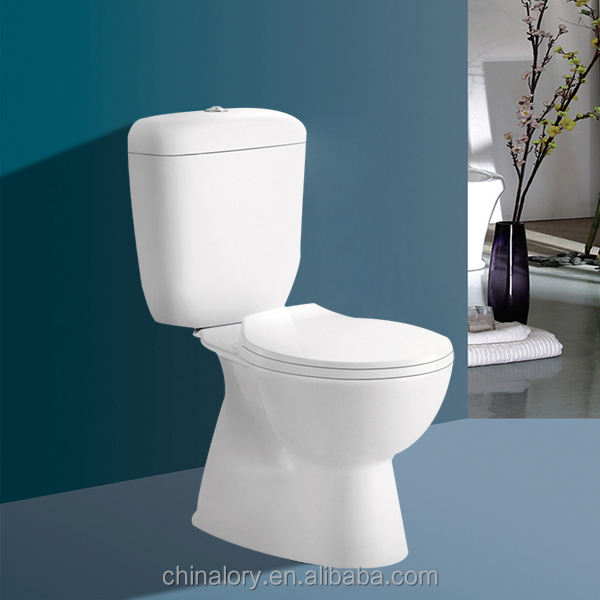Cheap Price Ceramic Bathroom Sanitary Ware Tolet / Wash Down Two Piece Toilet