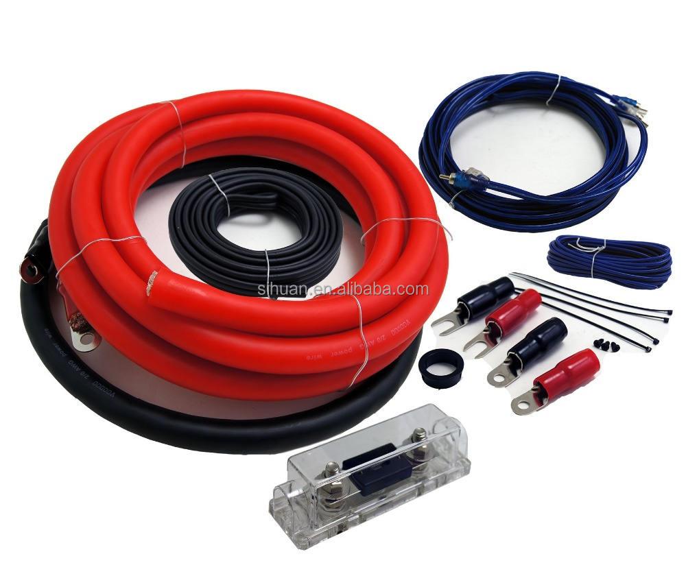 High Performance Best Speaker Wire 4 Gauge Car Audio Amplifier Wiring Kit -  Buy Car Audio Amplifier Wiring Kit,4 Gauge Car Audio Cable Kit,High  Performance Best Speaker Wire 4 Gauge Car AudioAlibaba.com