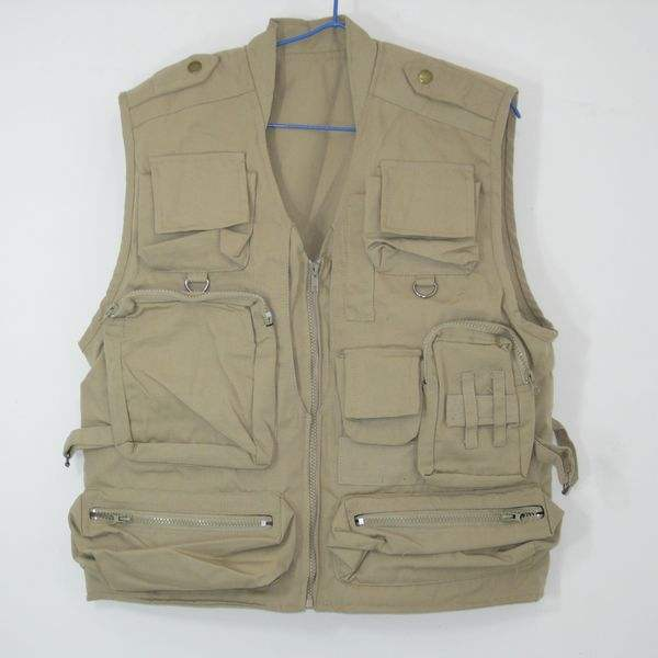 multi pocket travel pocket reporter vest