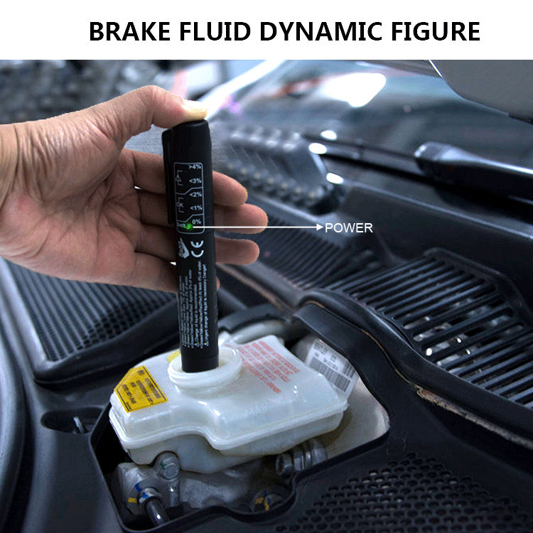 Brake Fluid Tester calibrated for DOT 4 brake fluids automatic transmission diagnostic tools