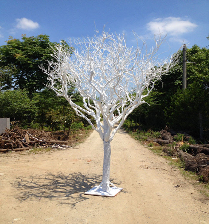 wholesale artificial white dry tree branch without leaves