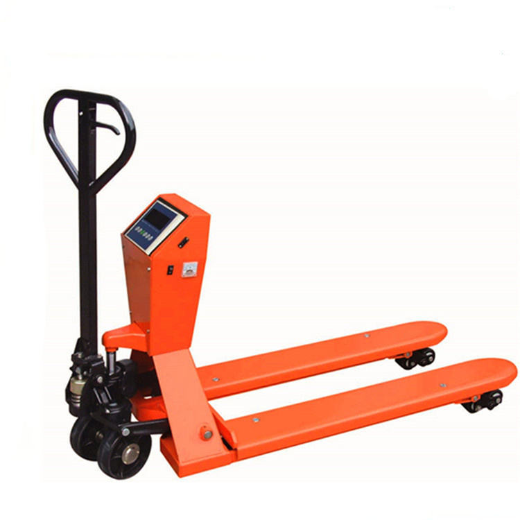 2.5t - 3t Hydraumatic Hand Mobile Pallet Jack CE / GS With Alloy Steel Crafted