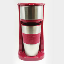 Portable Drip Coffeemaker With Single Cup 14oz 120V 220-240V 700W