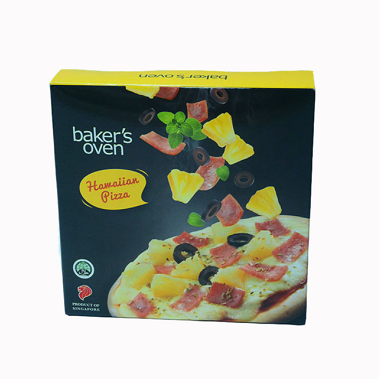 Factory Price Asian Normal Pizza Frozen Blended Hawaiian Pizza 24 Pcs