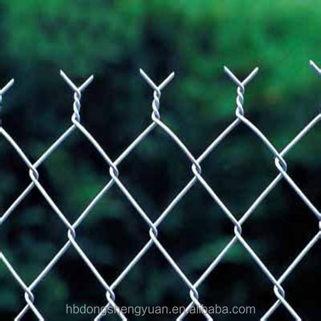 high quality durable chain link fence netting(manufacturer&factory)