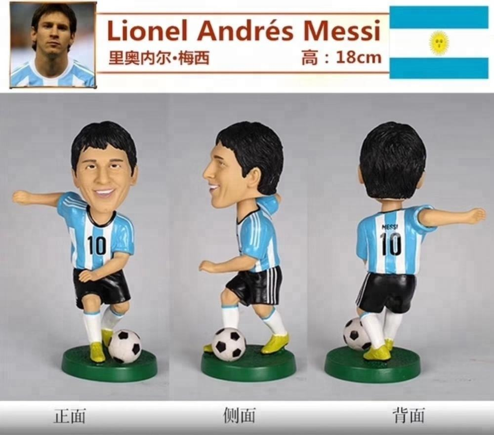 Newest Design Soccer Thomas Muller Germany Bobblehead Figure 18cm Free Shipping