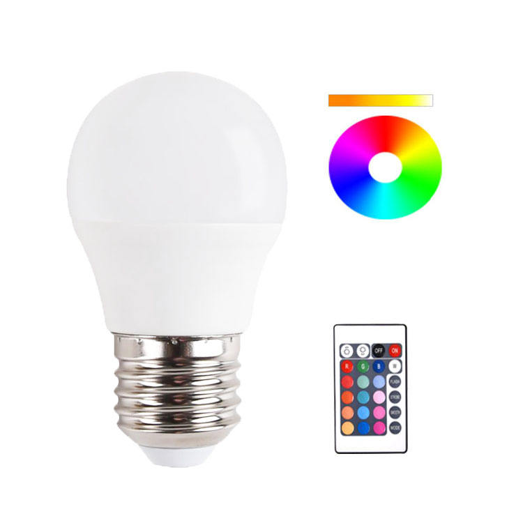 RGB+Daylight White with Memory Function and Wall Switch Control E26 10W Dimmable Color Changing Light Bulbs with Remote Controller LARZI RGBW LED Light Bulbs