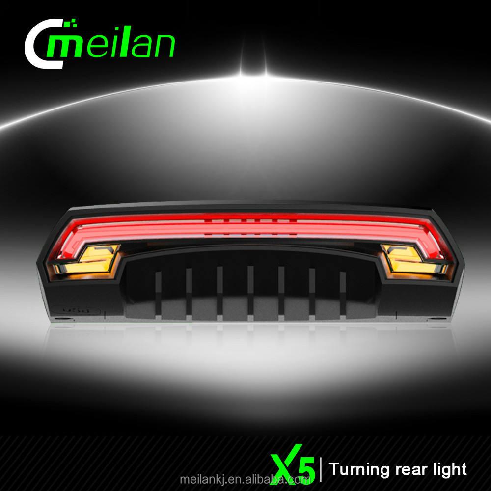 Meilan x5 controle remoto sem fio luz <span class=keywords><strong>da</strong></span> bicicleta <span class=keywords><strong>levou</strong></span> transformar a luz do <span class=keywords><strong>sinal</strong></span> para bicicleta <span class=keywords><strong>mochila</strong></span>