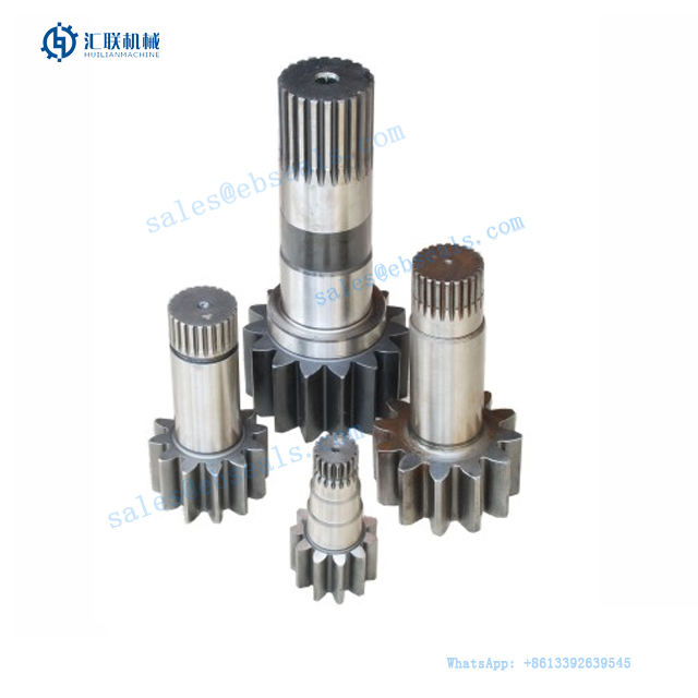 Excavator Swing Machinery Drive Shaft for Swing Turning Motor Reduction Gearbox Reductor Driving Shafts