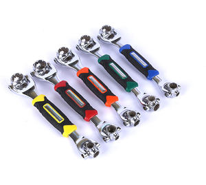 48 In 1 Multifungsi Kunci Socket 360 Derajat Rotary Tiger Head Ratchet Wrench Soket Alat